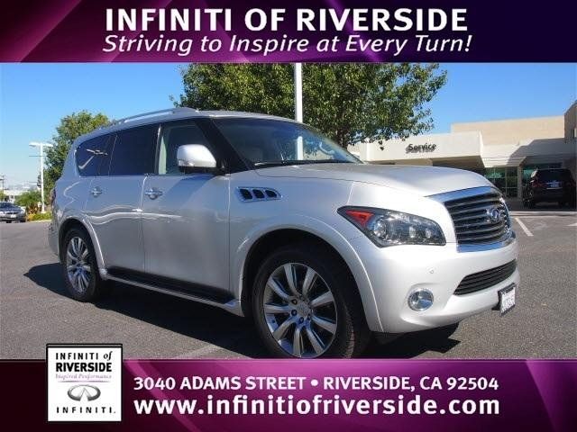 2012 Infiniti QX56 Base SUV for sale in Riverside for $45,988 with 36,868 miles.