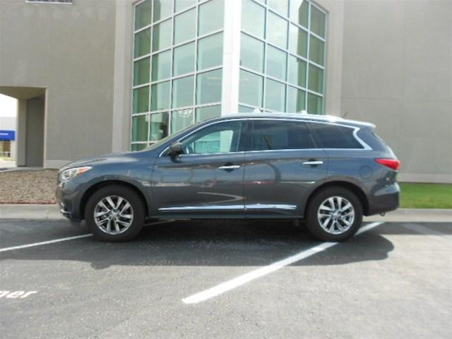 2013 Infiniti JX35 Base SUV for sale in Wichita for $41,000 with 32,520 miles.