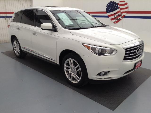 2013 Infiniti JX35 Base SUV for sale in Edinburg for $36,995 with 26,827 miles.