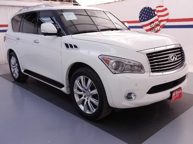 2013 Infiniti QX56 Base SUV for sale in Edinburg for $49,995 with 36,500 miles.