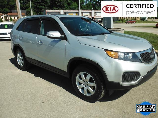 2013 Kia Sorento LX SUV for sale in Butler for $16,387 with 52,974 miles.