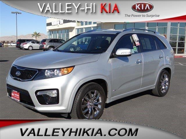 2013 Kia Sorento SX SUV for sale in Victorville for $29,995 with 15,020 miles.