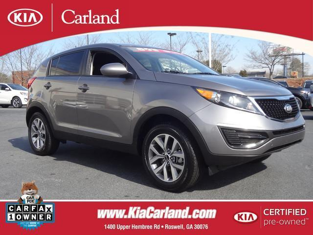 2015 Kia Sportage LX SUV for sale in Roswell for $19,933 with 18,550 miles