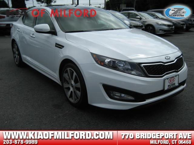 2012 Kia Optima SX Sedan for sale in Milford for $23,499 with 15,872 miles.