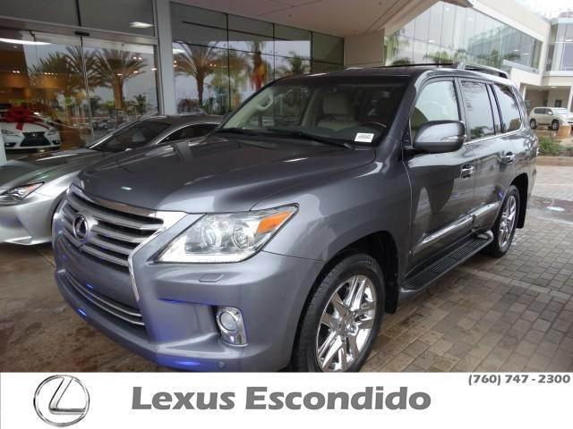 2013 Lexus LX 570 Base SUV for sale in Escondido for $71,999 with 40,504 miles.