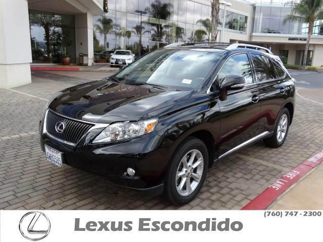 2012 Lexus RX 350 Base SUV for sale in Escondido for $37,999 with 25,081 miles.