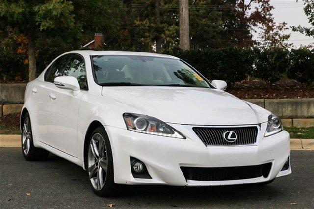 2012 Lexus IS 250 Base Sedan for sale in Charlotte for $30,990 with 14,733 miles.