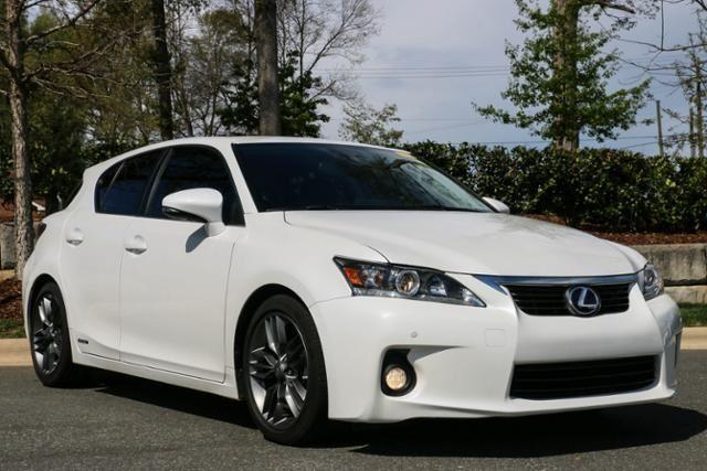 2013 Lexus CT 200h Premium Hatchback for sale in Charlotte for $26,491 with 25,223 miles