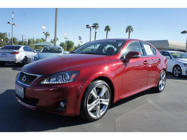 2012 Lexus IS 350 Base Sedan for sale in Cathedral City for $43,000 with 12,060 miles.