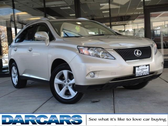 2012 Lexus RX 350 Base SUV for sale in Silver Spring for $33,532 with 37,411 miles.