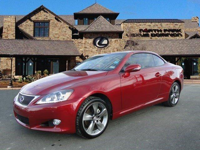 2011 Lexus IS 250C Base Convertible for sale in San Antonio for $30,495 with 36,585 miles.