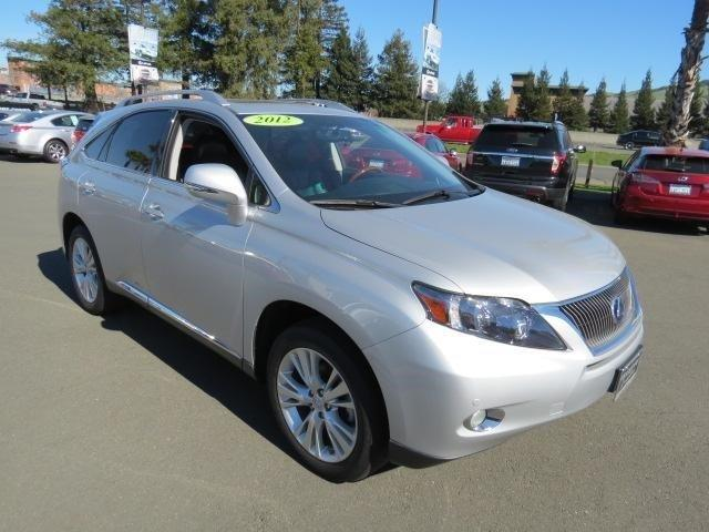 2012 Lexus RX 450h Base SUV for sale in Santa Rosa for $39,800 with 44,948 miles