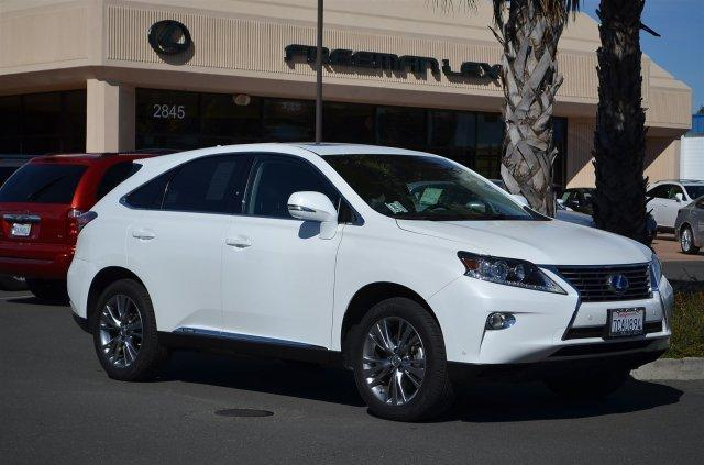2013 Lexus RX 450h Base SUV for sale in Santa Rosa for $46,975 with 8,109 miles.