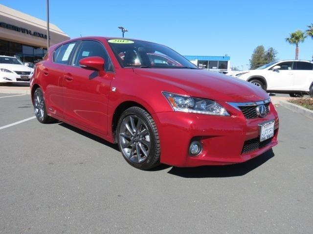 2012 Lexus CT 200h Hatchback for sale in Santa Rosa for $27,495 with 47,030 miles