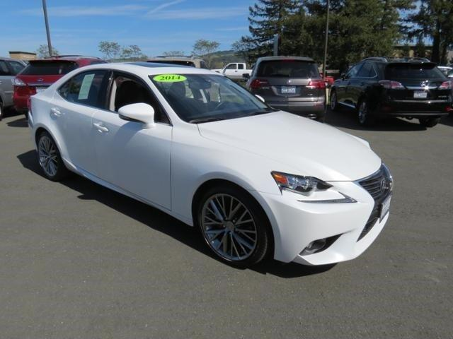 2014 Lexus IS 250 Base Sedan for sale in Santa Rosa for $37,975 with 9,927 miles