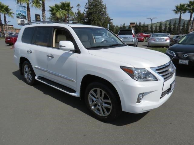 2014 Lexus LX 570 Base SUV for sale in Santa Rosa for $82,995 with 18,872 miles