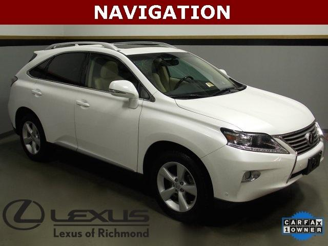 2013 Lexus RX 350 SUV for sale in Richmond for $42,588 with 24,039 miles.