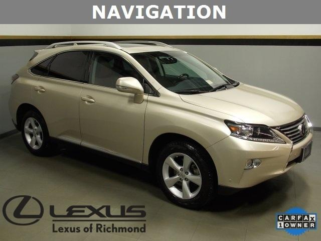 2013 Lexus RX 350 SUV for sale in Richmond for $36,921 with 40,275 miles.