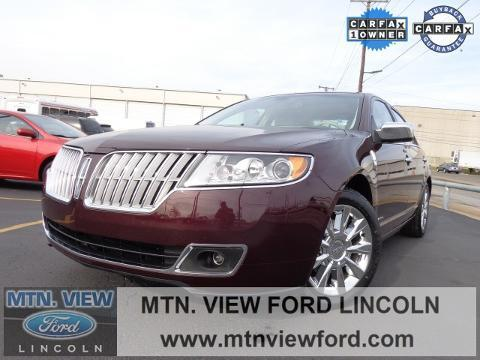 2012 Lincoln MKZ Hybrid Base Sedan for sale in Chattanooga for $19,000 with 54,698 miles.
