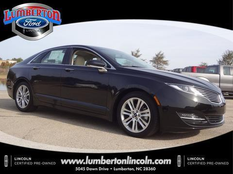 2014 Lincoln MKZ Base Sedan for sale in Lumberton for $28,979 with 24,435 miles.