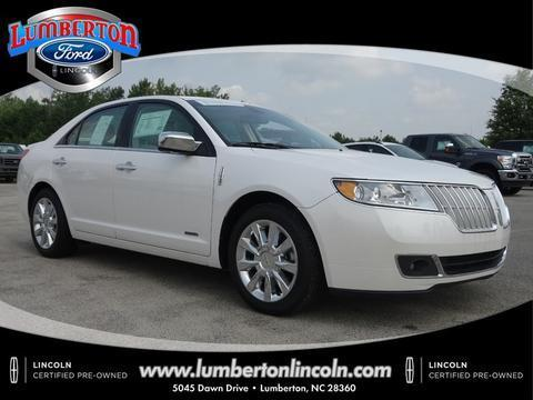 2012 Lincoln MKZ Hybrid Base Sedan for sale in Lumberton for $28,979 with 13,762 miles.