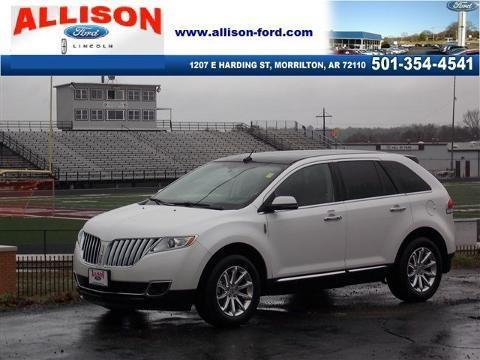 2012 Lincoln MKX Base SUV for sale in Morrilton for $29,700 with 43,926 miles