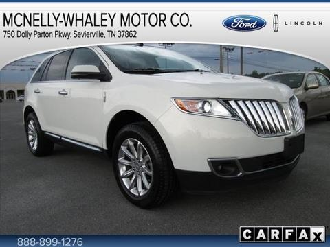 2012 Lincoln MKX Base SUV for sale in Sevierville for $30,995 with 31,820 miles.