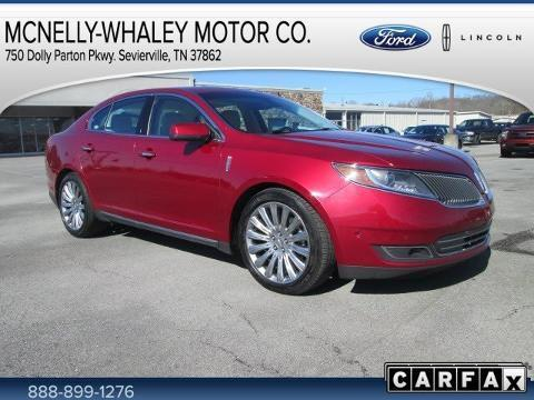 2013 Lincoln MKS Base Sedan for sale in Sevierville for $28,995 with 23,930 miles