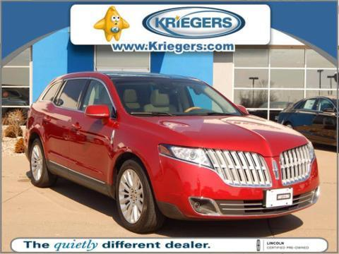 2012 Lincoln MKT EcoBoost Wagon for sale in Muscatine for $29,989 with 37,460 miles