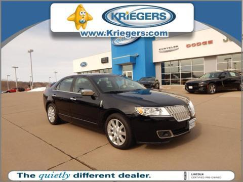2012 Lincoln MKZ Base Sedan for sale in Muscatine for $20,900 with 21,836 miles