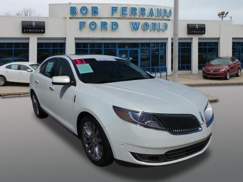 2013 Lincoln MKS Base Sedan for sale in Girard for $34,900 with 16,605 miles.
