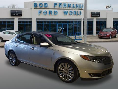 2013 Lincoln MKS Base Sedan for sale in Girard for $29,500 with 14,512 miles
