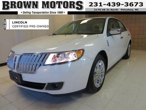 2012 Lincoln MKZ Base Sedan for sale in Petoskey for $20,885 with 17,033 miles.