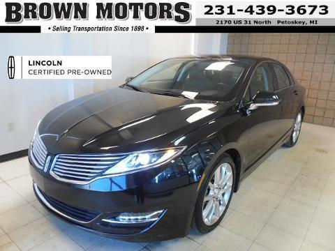 2013 Lincoln MKZ Base Sedan for sale in Petoskey for $29,995 with 21,976 miles