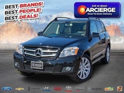 2012 Mercedes-Benz GLK-Class GLK350 SUV for sale in Colorado Springs for $31,999 with 28,789 miles.