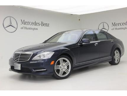 2013 Mercedes-Benz S-Class S550 Sedan for sale in Huntington for $64,941 with 33,367 miles.