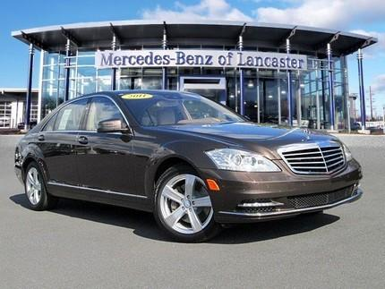2011 Mercedes-Benz S-Class S550 Sedan for sale in East Petersburg for $51,900 with 14,346 miles.