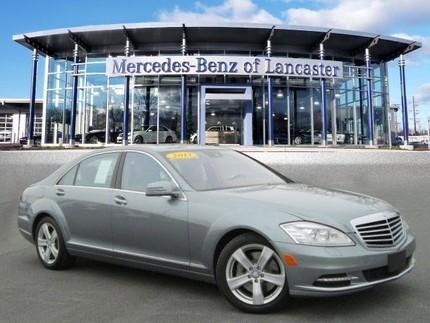 2013 Mercedes-Benz S-Class S550 Sedan for sale in East Petersburg for $59,891 with 25,258 miles