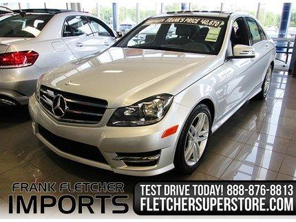 2014 Mercedes-Benz C-Class C300 4MATIC Sedan for sale in Joplin for $38,797 with 3,148 miles