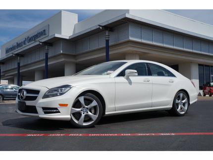 2013 Mercedes-Benz CLS-Class CLS550 Sedan for sale in Georgetown for $56,981 with 45,457 miles.