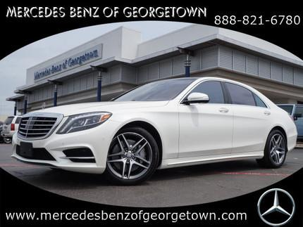 2015 Mercedes-Benz S-Class S550 Sedan for sale in Georgetown for $101,895 with 9,485 miles