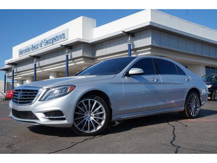 2014 Mercedes-Benz S-Class S550 Sedan for sale in Georgetown for $97,981 with 17,347 miles