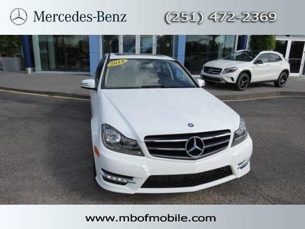 2014 Mercedes-Benz C-Class C250 Coupe for sale in Mobile for $33,000 with 10,622 miles.