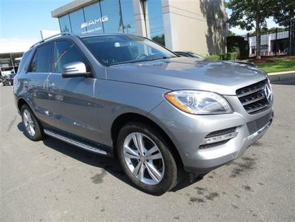 2014 Mercedes-Benz M-Class ML350 SUV for sale in Charlotte for $52,579 with 11,313 miles.