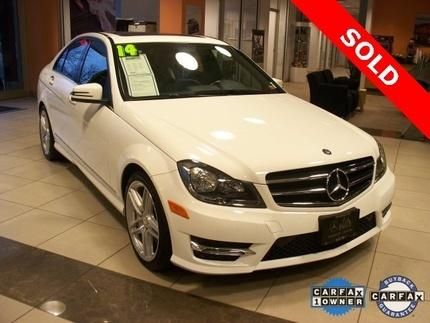 2014 Mercedes-Benz C-Class C300 4MATIC Sedan for sale in Springfield for $34,980 with 12,729 miles.