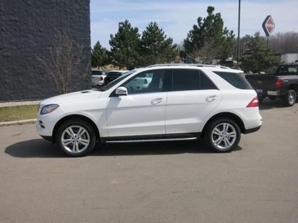 2015 Mercedes-Benz M-Class ML350 SUV for sale in Appleton for $53,990 with 16,172 miles