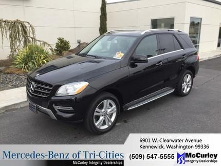 2014 Mercedes-Benz M-Class ML350 SUV for sale in Kennewick for $57,934 with 6,504 miles