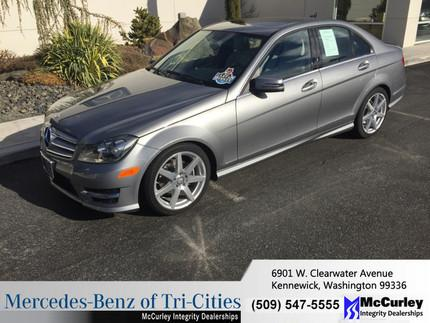 2012 Mercedes-Benz C-Class C300 Sedan for sale in Kennewick for $29,934 with 24,238 miles.