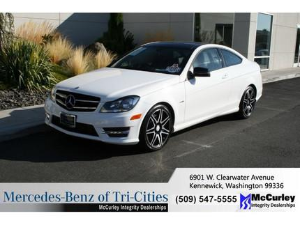 2014 Mercedes-Benz C-Class C250 Coupe for sale in Kennewick for $38,933 with 2,058 miles.