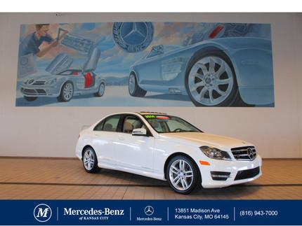 2014 Mercedes-Benz C-Class C300 4MATIC Sedan for sale in Kansas City for $35,900 with 15,149 miles.
